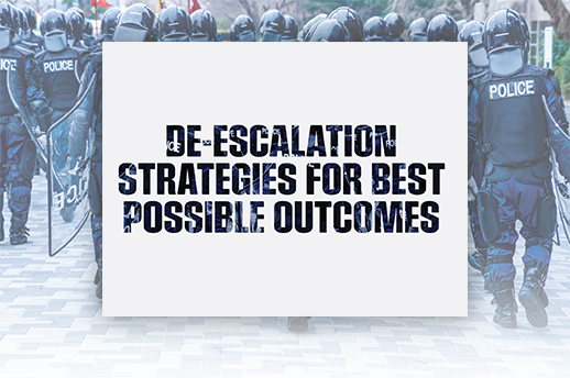 de-escalation for the best possible outcomes